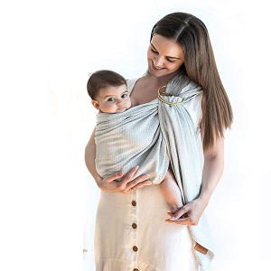 Baby Wrap Carrier Ring Sling by ION & MAY