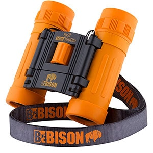 BeBison Real Optics Compact Binoculars