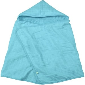 Green Sprouts Muslin Hooded Baby Towel