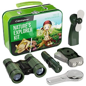 Mini Explorer 9 in 1 Kit for 4-7 Years Old Kids