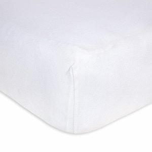 Burt's Bees Baby - Fitted Crib Sheet, Solid Color, 100% Organic Cotton Crib Sheet for Standard Crib and Toddler Mattresses